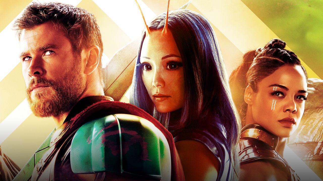 Thor, Mantis, Valkyrie MCU