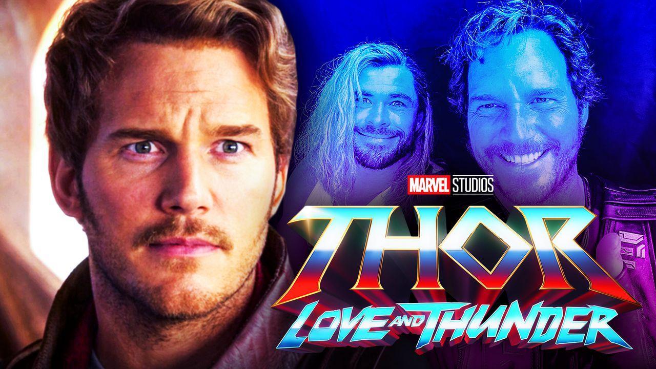 Chris Pratt Chris Hemsworth Thor Love and Thunder