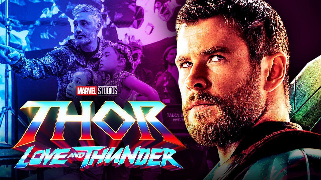 Taika Waititi, Chris Hemsworth, Thor: Love and Thunder