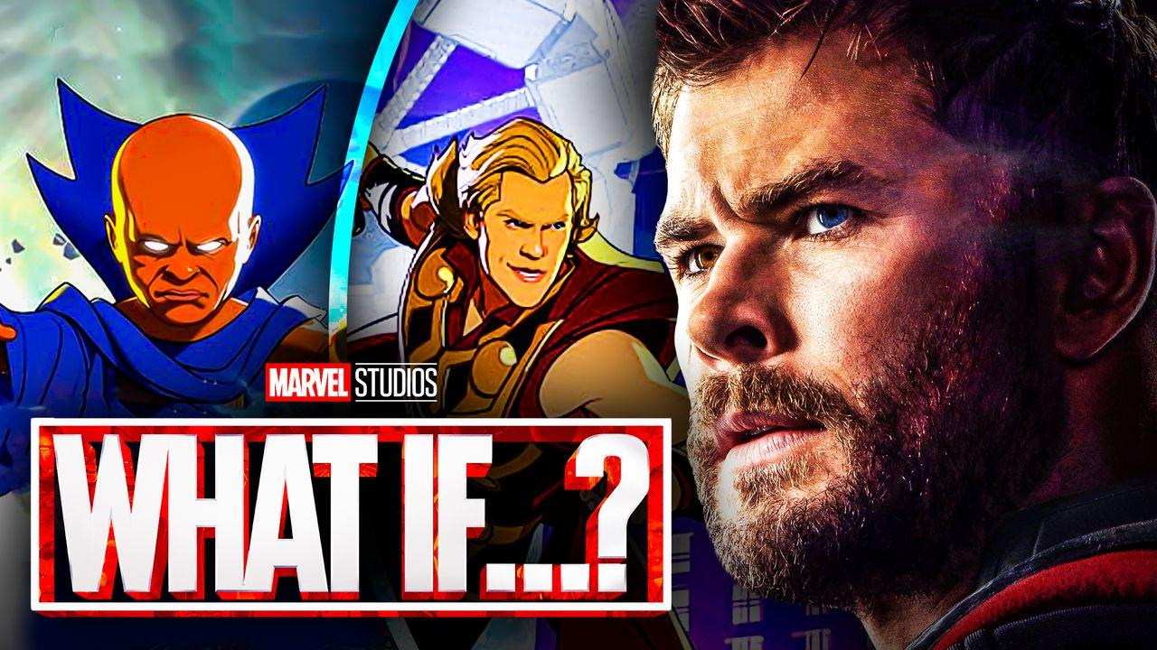 Watcher, Party Thor, Chris Hemsworth, What If...?