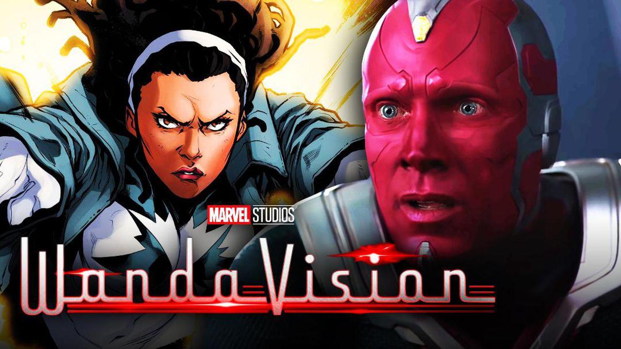 WandaVision Maria Rambeau Vision