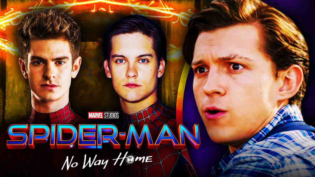Tobey Maguire, Andrew Garfield, Spider-Man: No Way Home.