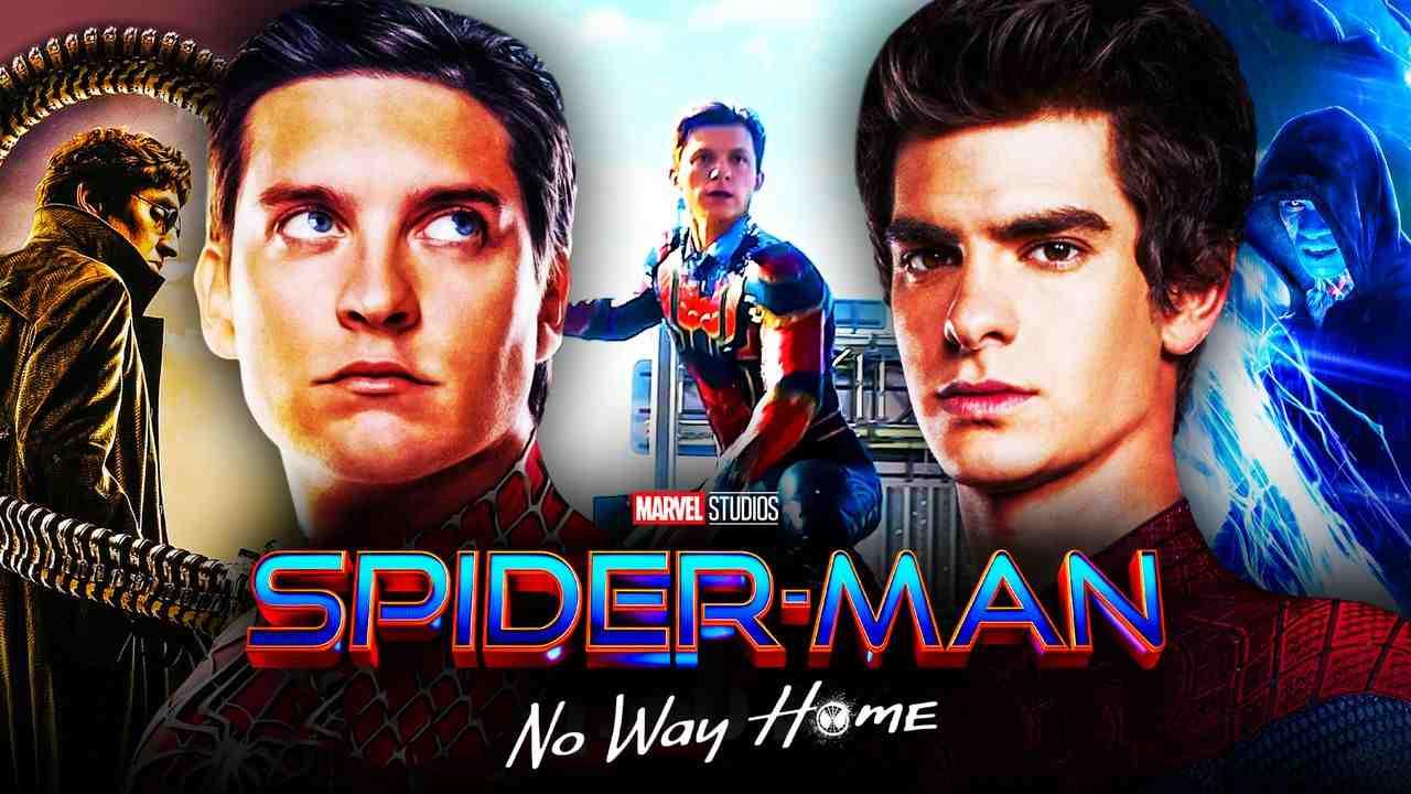 Doc Ock, Tobey Maguire, Spider-Man, Andrew Garfield, Electro