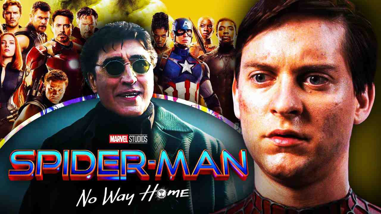 Tobey Maguire Spider-Man, Avengers, Alfred Molina Doc Ock