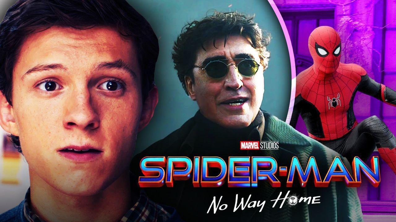 Spider-Man, Doc Ock, Tom Holland