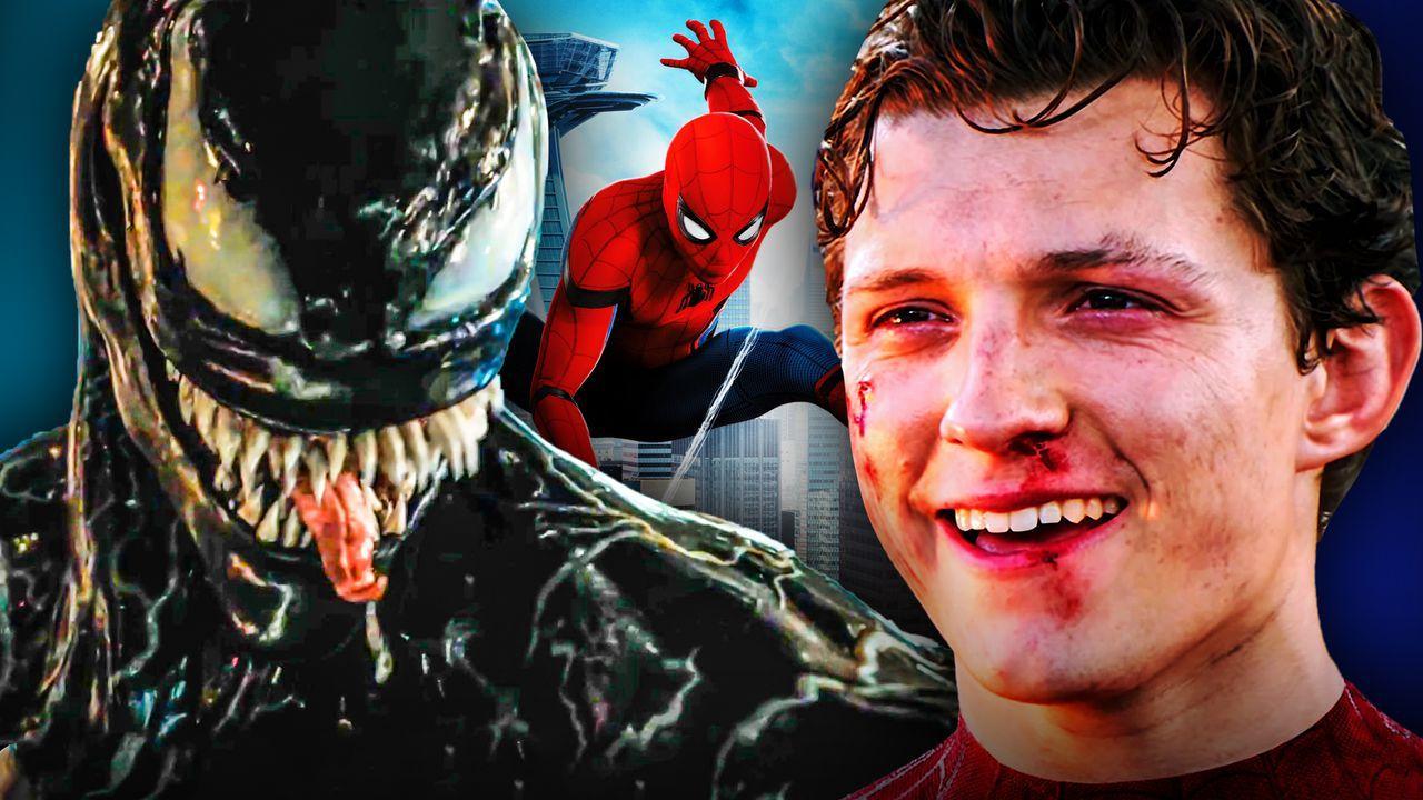 Tom Holland, Spider-Man, Venom
