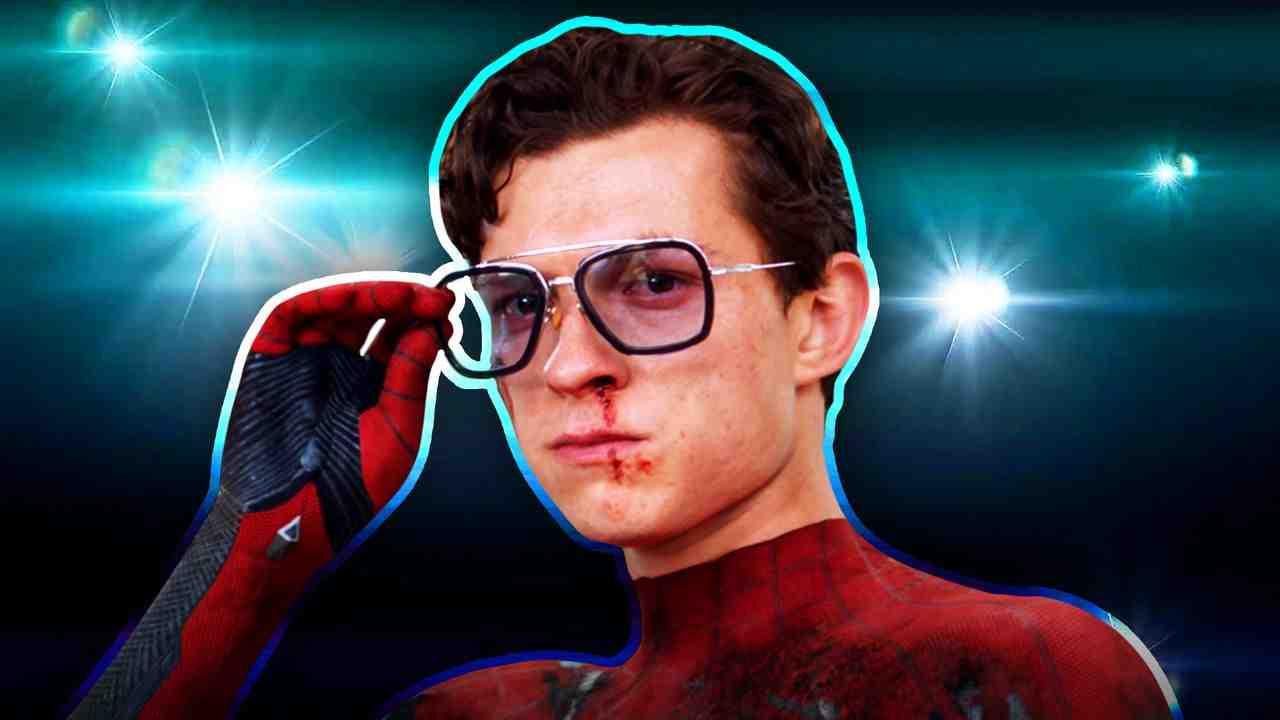 Tom Holland's Spider-Man, Flashing Lights in Background