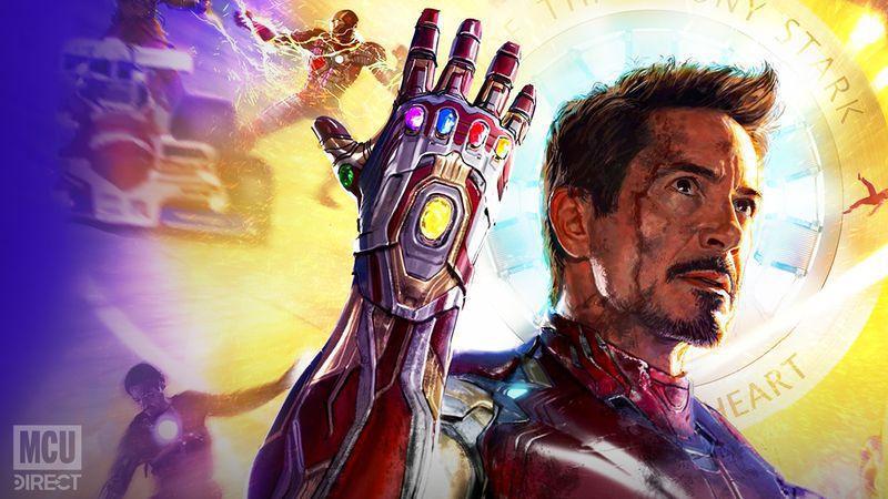 A closer look at D23 Tony Stark tribute poster.