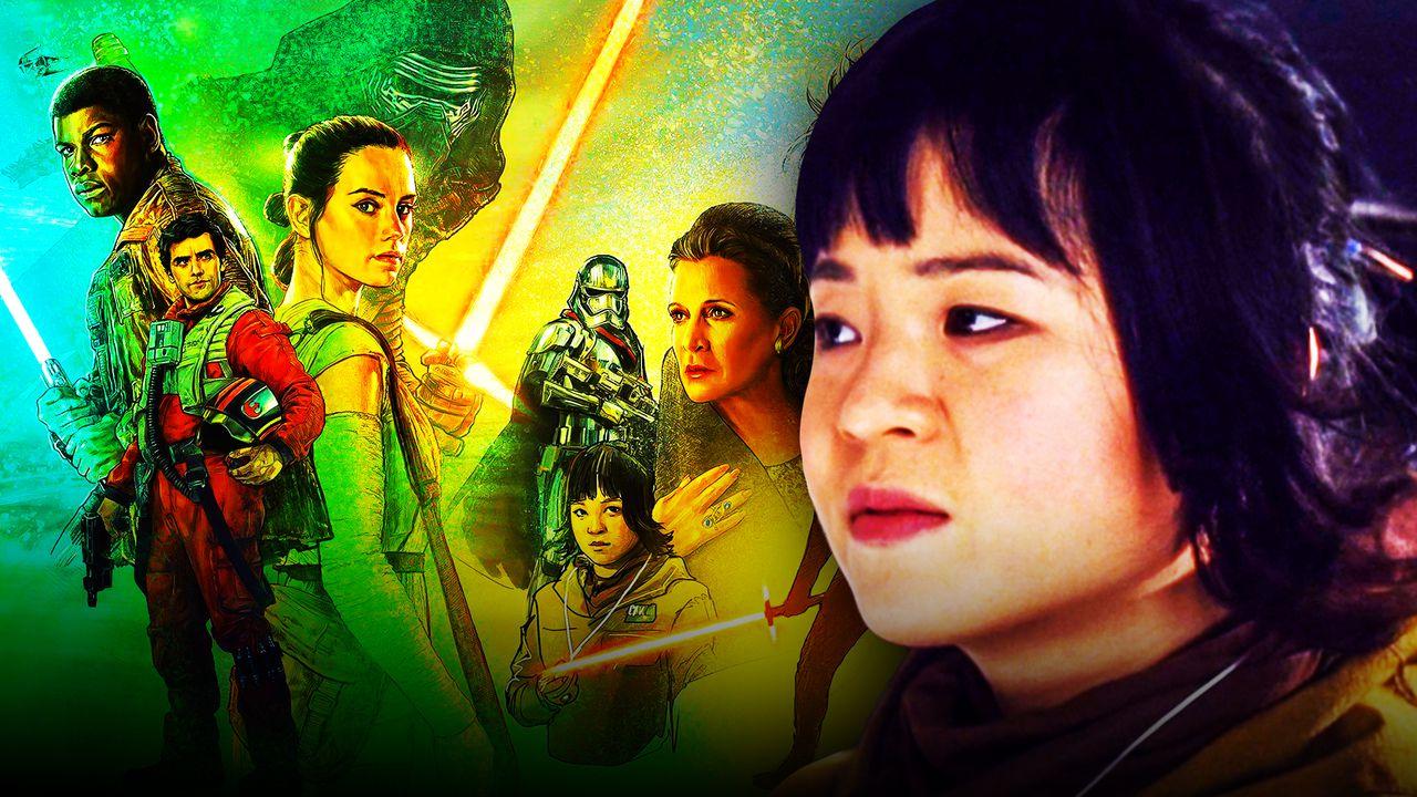 Kelly Marie Tran Star Wars Rose Poster