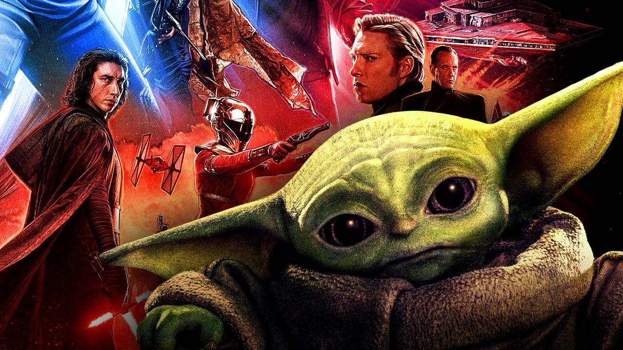 Baby Yoda, Star Wars Trilogy Poster
