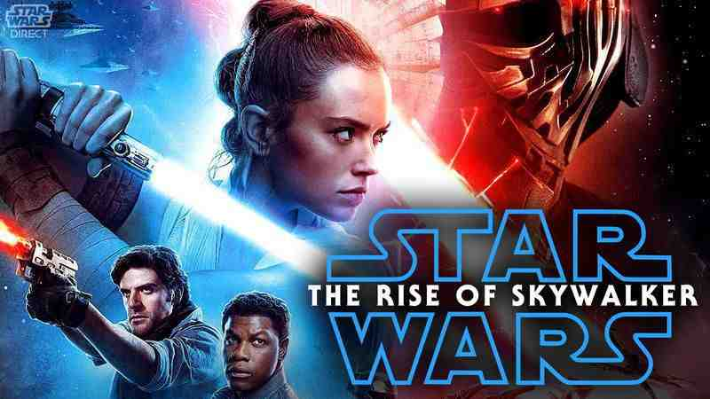 Star Wars: The Rise of Skywalker digital banner