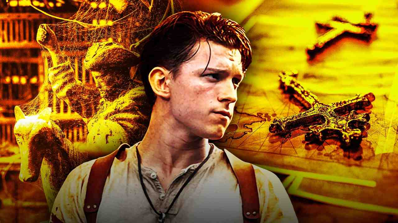 Tom Holland Nathan Drake Uncharted