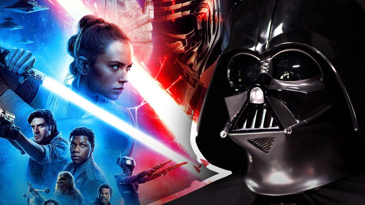 Darth Vader and The Rise of Skywalker poster