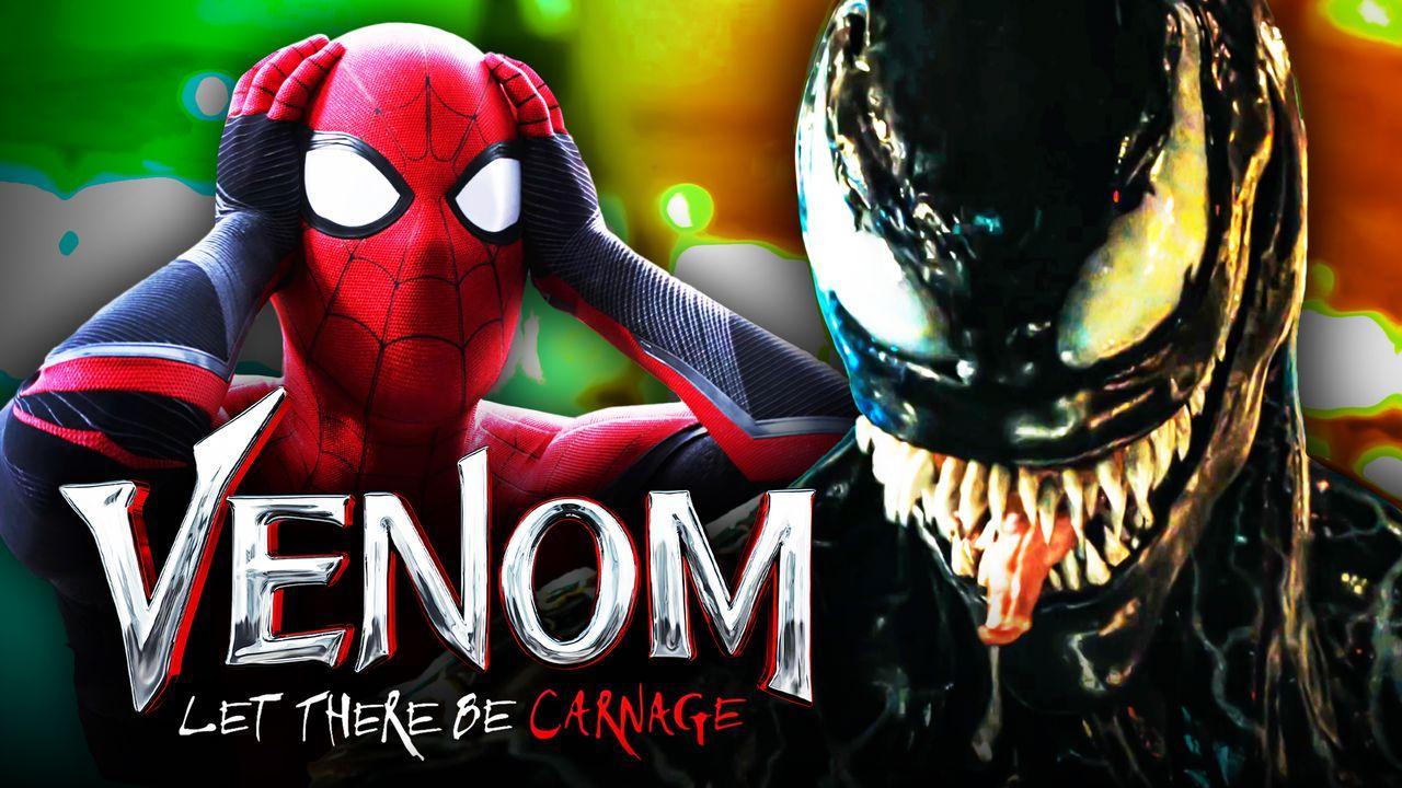 Venom, Spider-Man, Venom: Let There Be Carnage logo