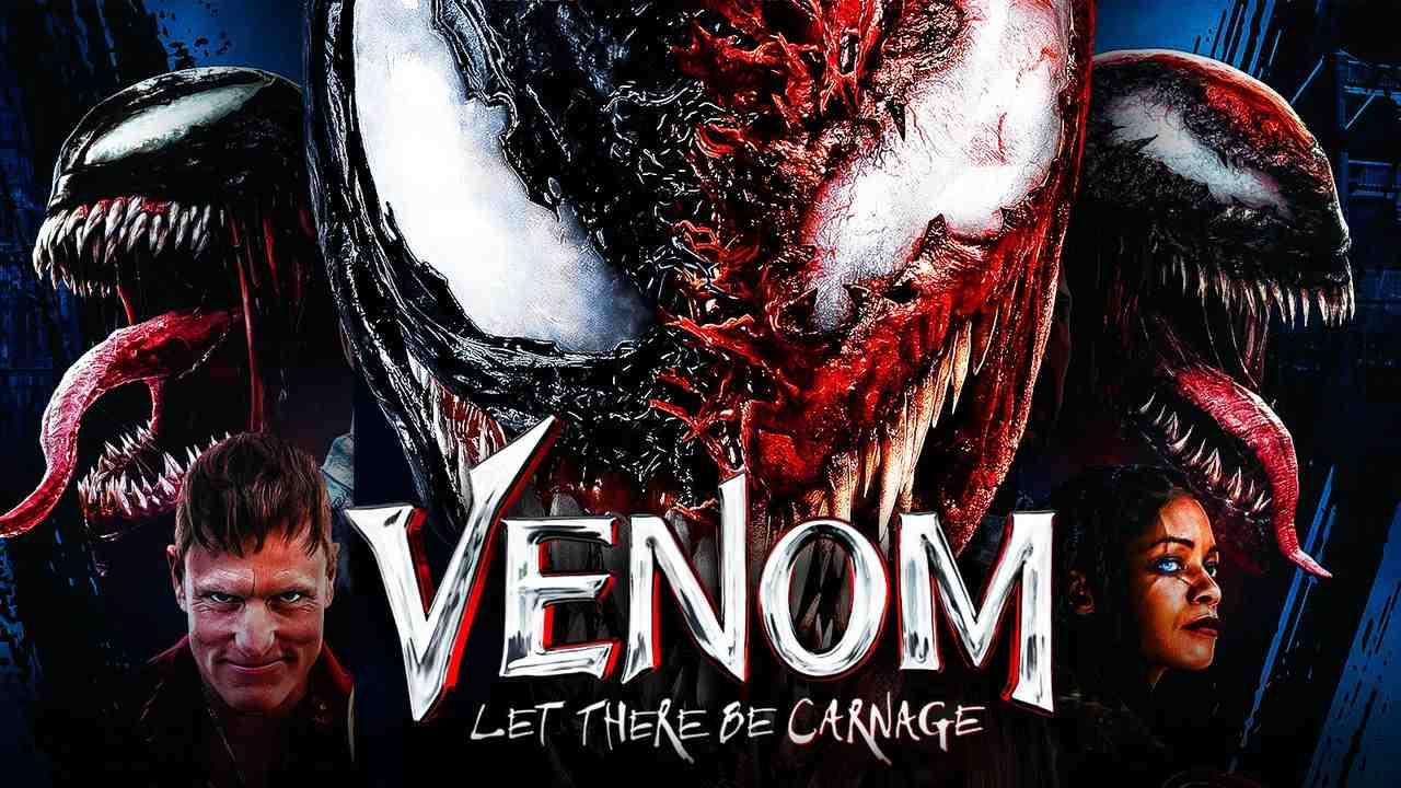 Venom, Carnage, Venom Let There Be Carnage logo, Woody Harrelson, Shriek