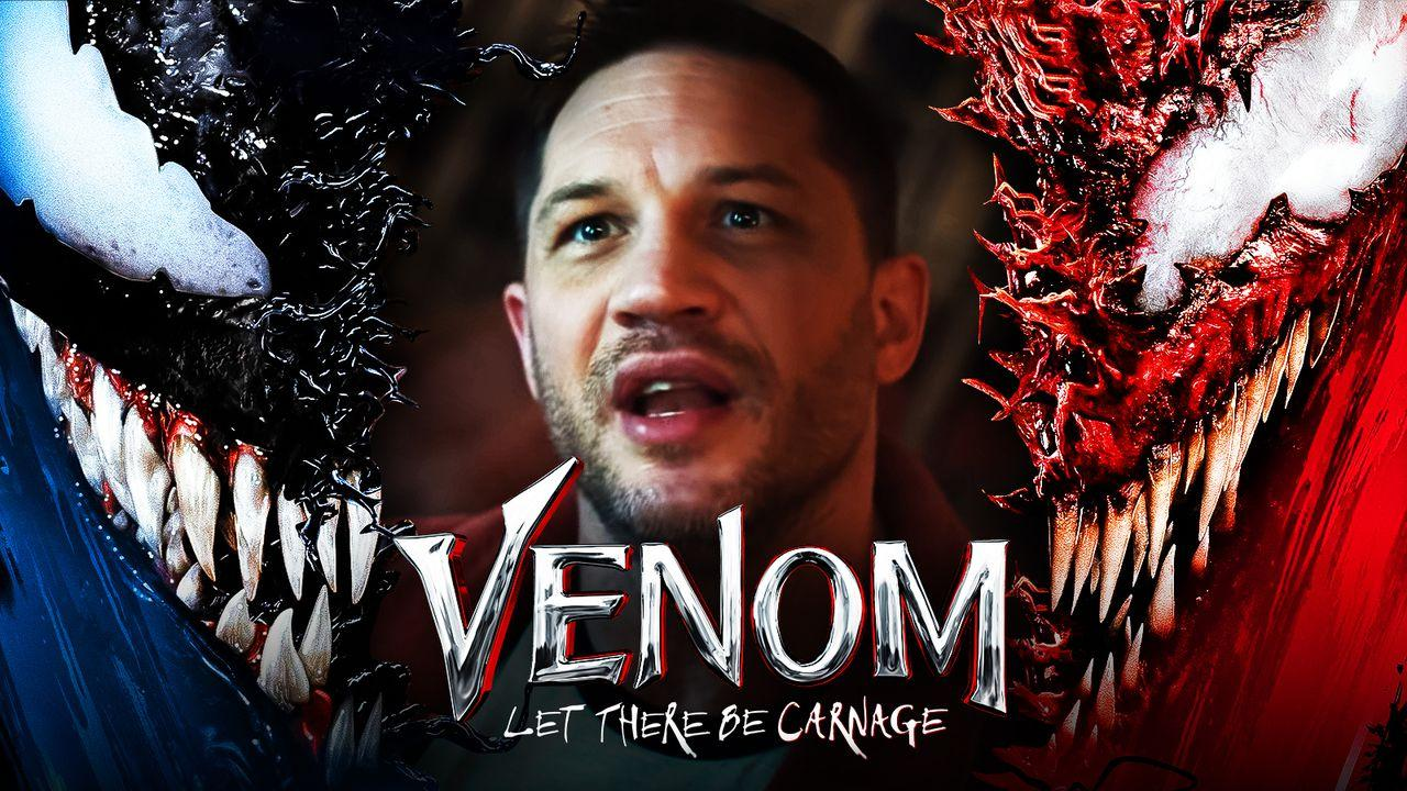 Venom: Let There Be Carnage logo, Tom Hardy as Eddie Brock, Venom, Carnage