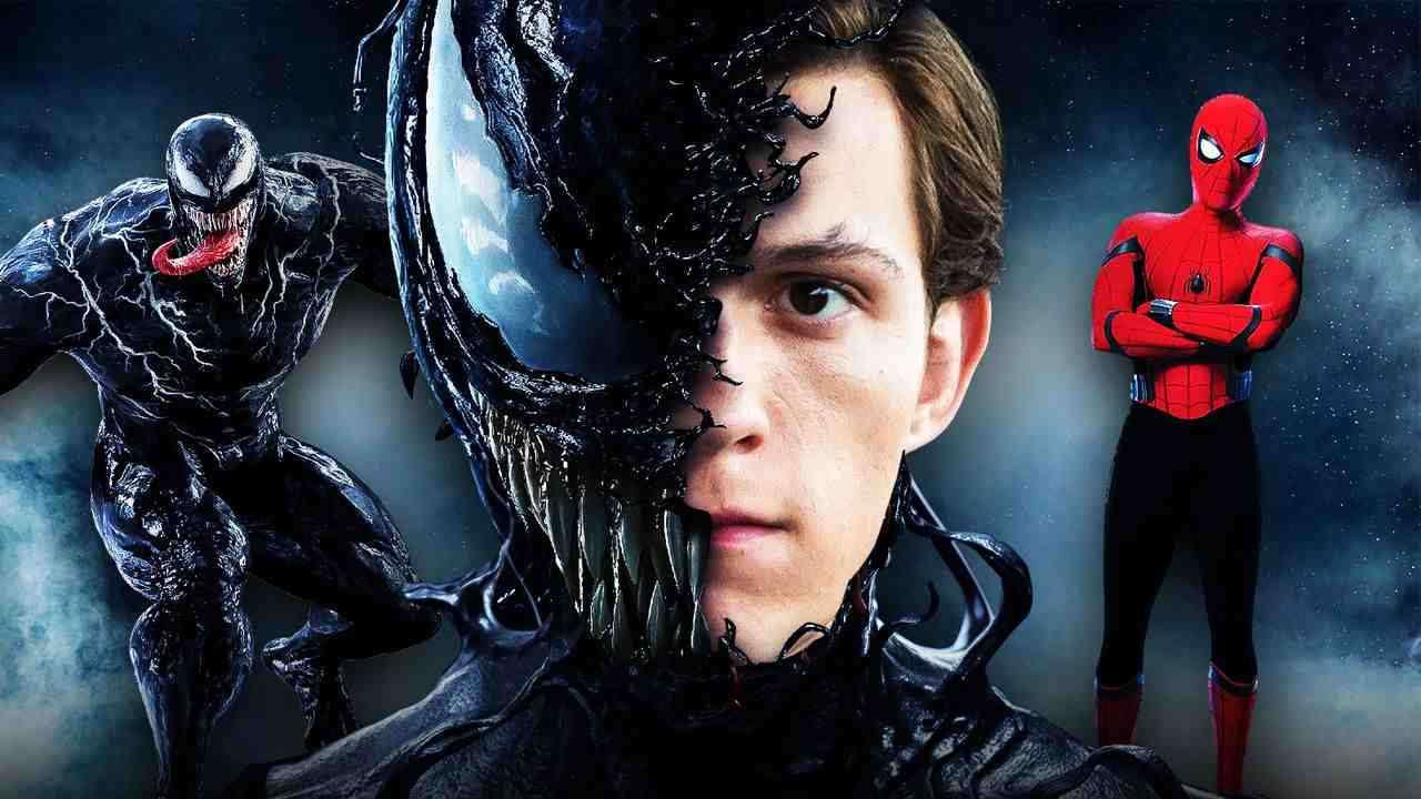 Tom Holland Venom Spider-Man