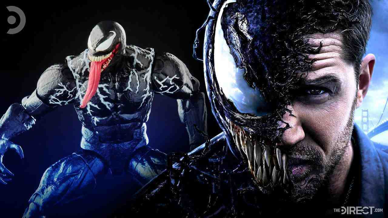 Venom Marvel Legends figure, Tom Hardy's Venom.