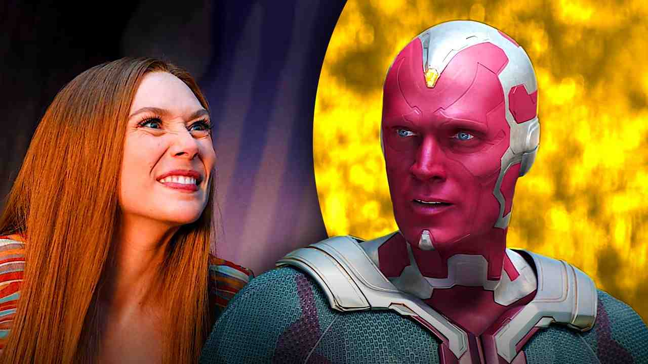 Scarlet Witch, Vision in WandaVision