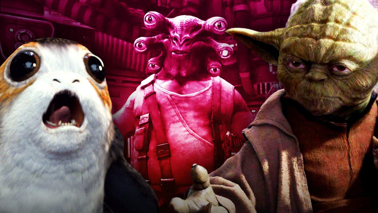 Porg, Yoda, VR Game