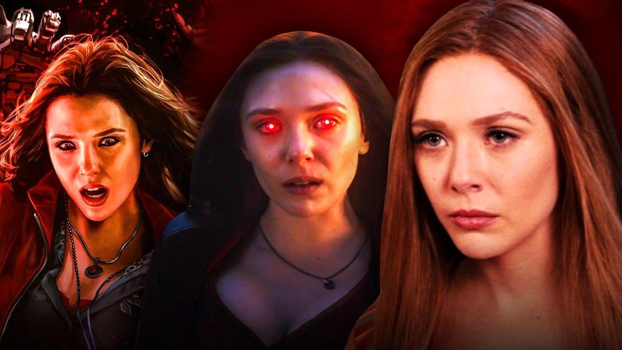 Scarlet Witch Avengers: Age of Ultron Art, Scarlet Witch from Avengers: Endgame, Wanda Maximoff