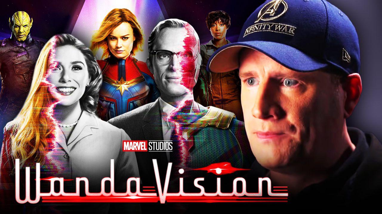 WandaVision, Captain Marvel characters, Kevin Feige