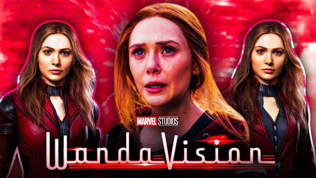 Wanda Maximoff, Scarlet Witch Costume, WandaVision, Disney+