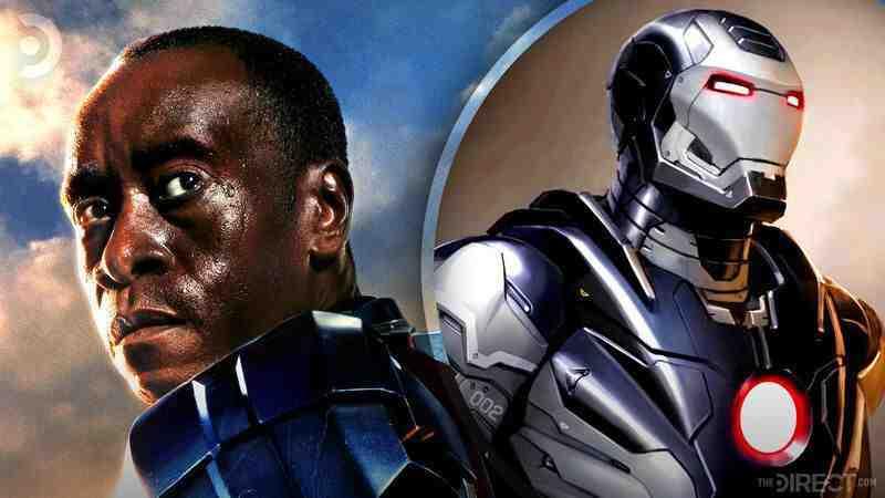 War Machine's unused Iron Man 3 armor design.