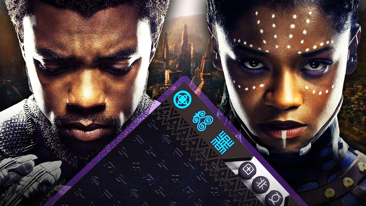 Black Panther and Shuri