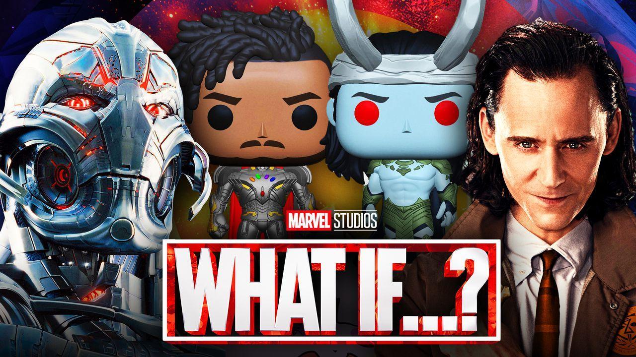Ultron, Killmonger, Loki, What If Funkos