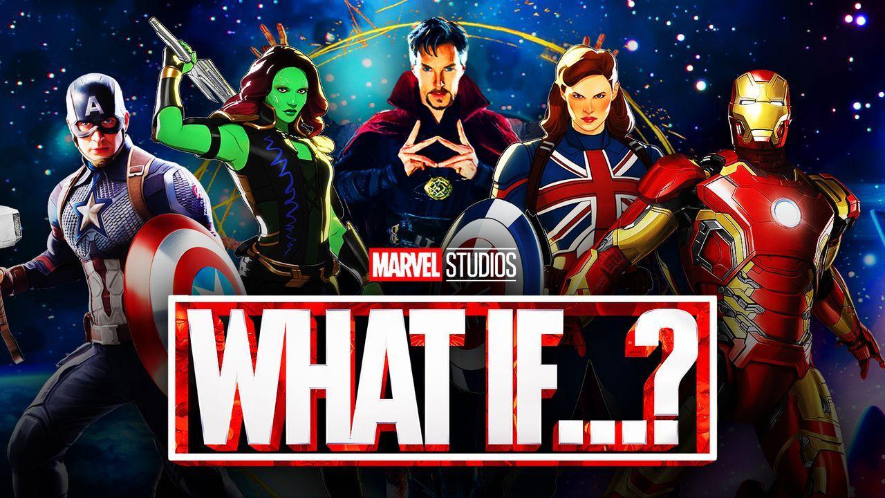 Marvel superheroes, What If Logo