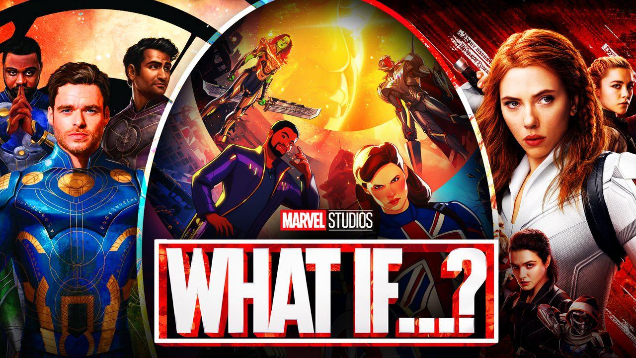 What If...? Season 2, Black Widow, Eternals