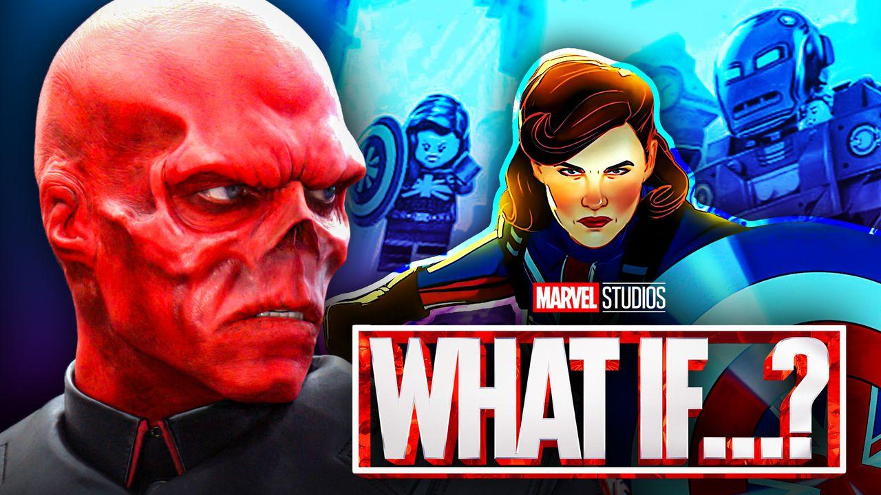 Red Skull, What If logo, Peggy Carter