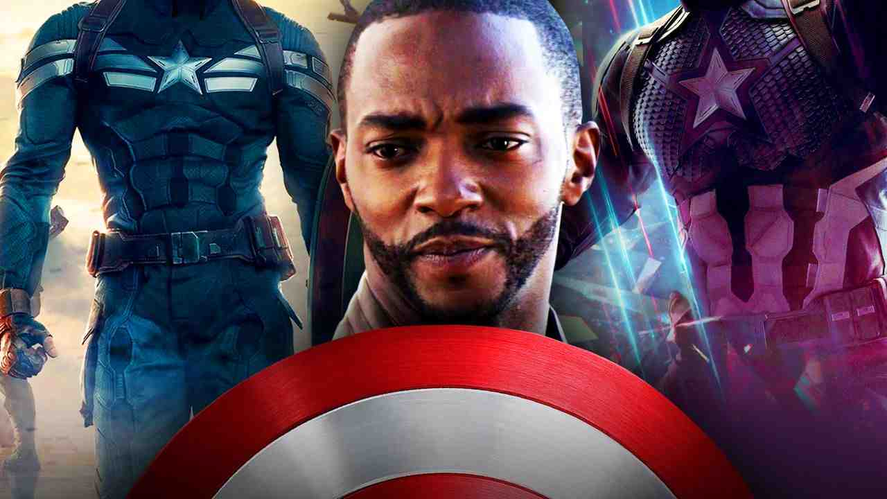 Captain America suits, Anthony Mackie shield