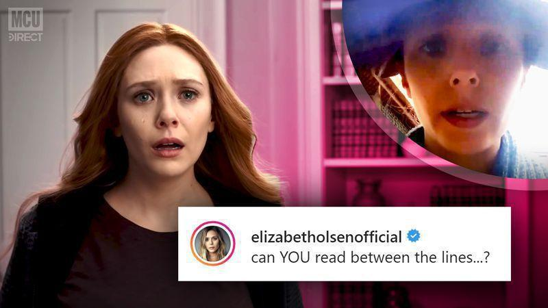 Elizabeth Olsen makes some cryptic comments relating to WANDAVISION and other Disney+ productions.