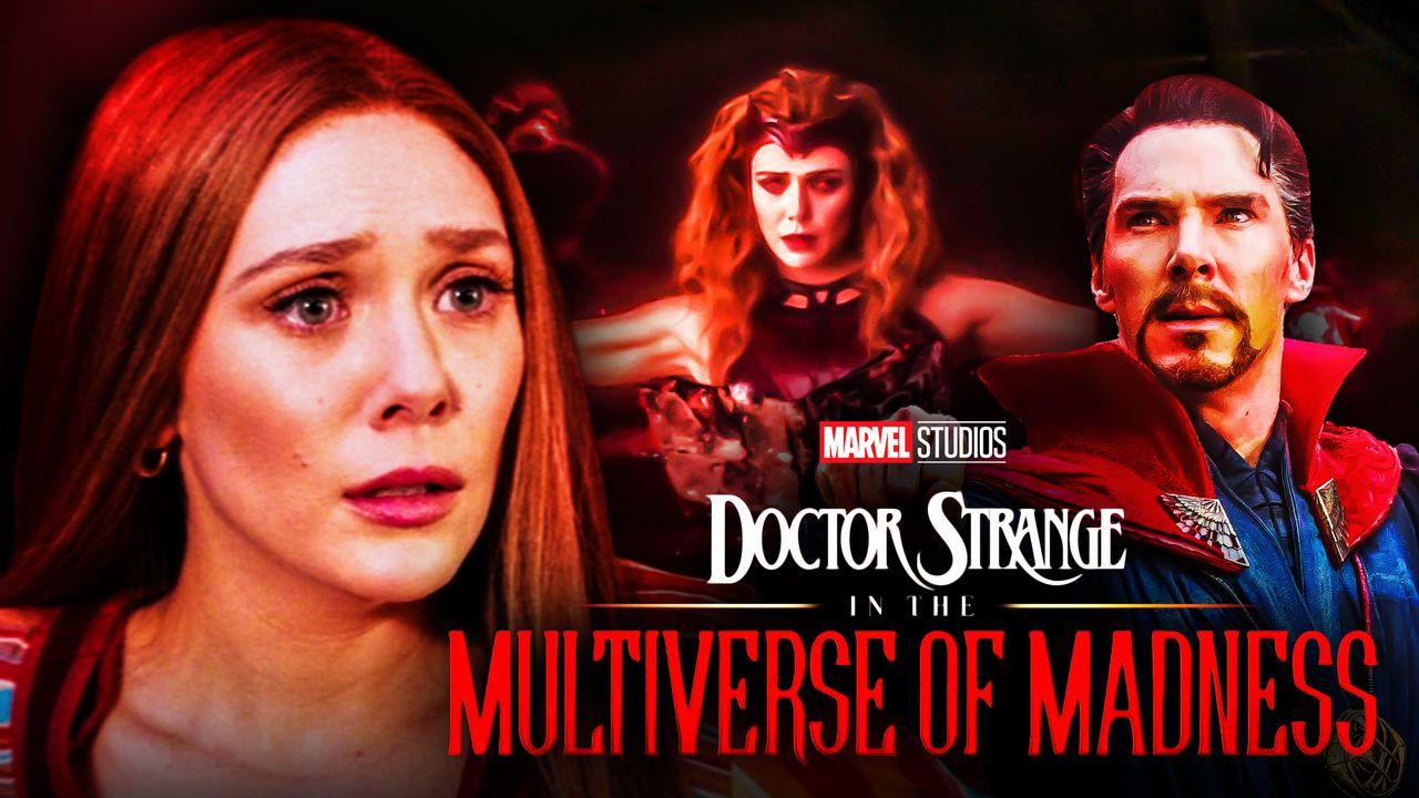Elizabeth Olsen's Scarlet Witch and Benedict Cumberbatch's Doctor Strange