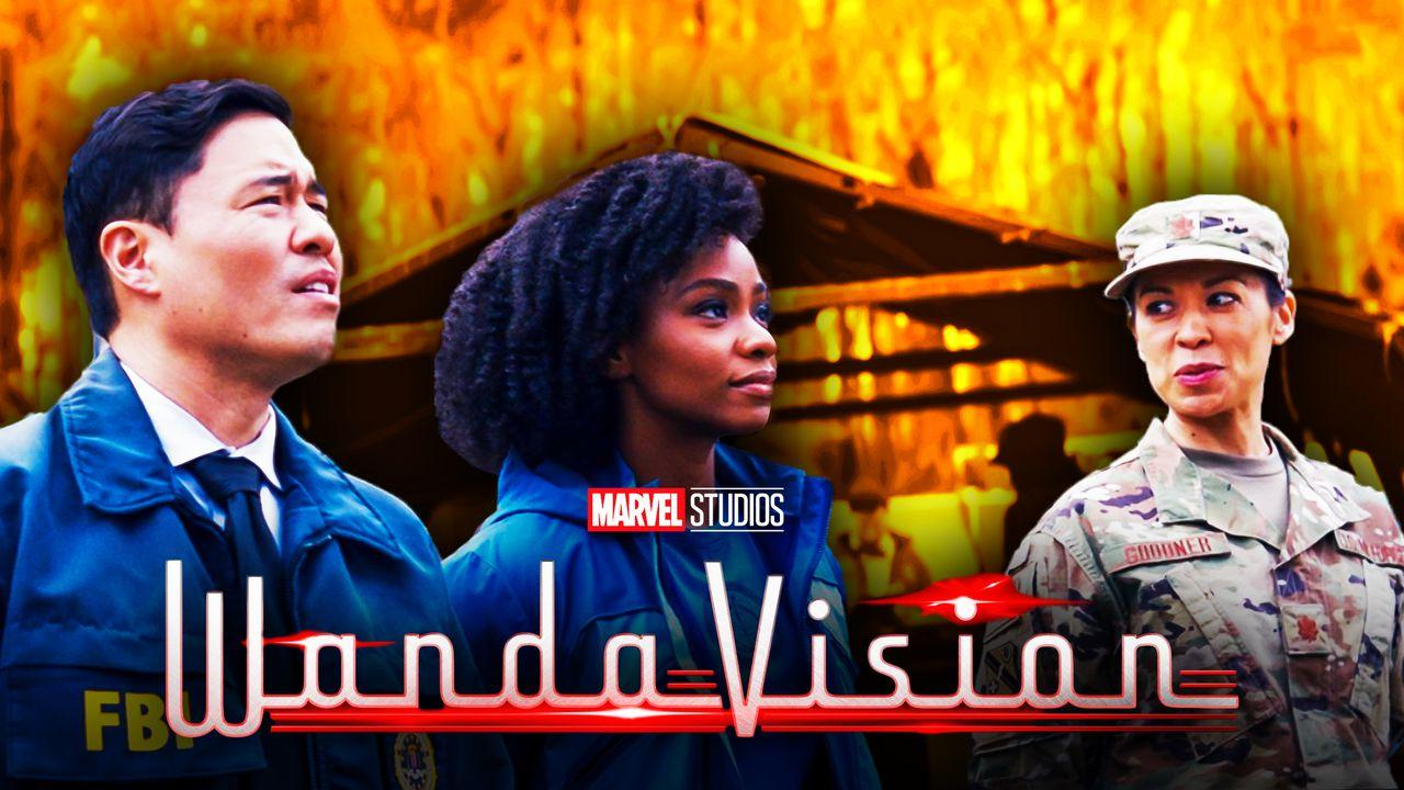WandaVision Monica Rambeau Aerospace engineer