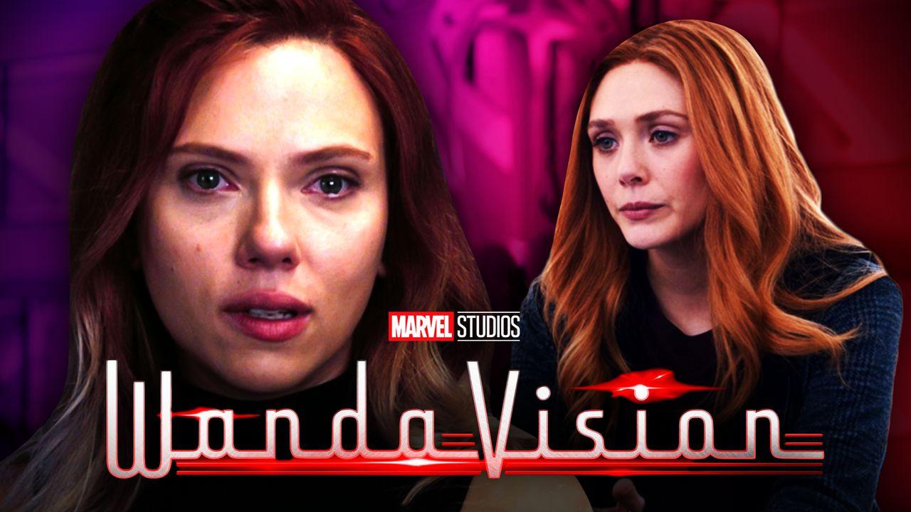 Black Widow Scarlet Witch WandaVision
