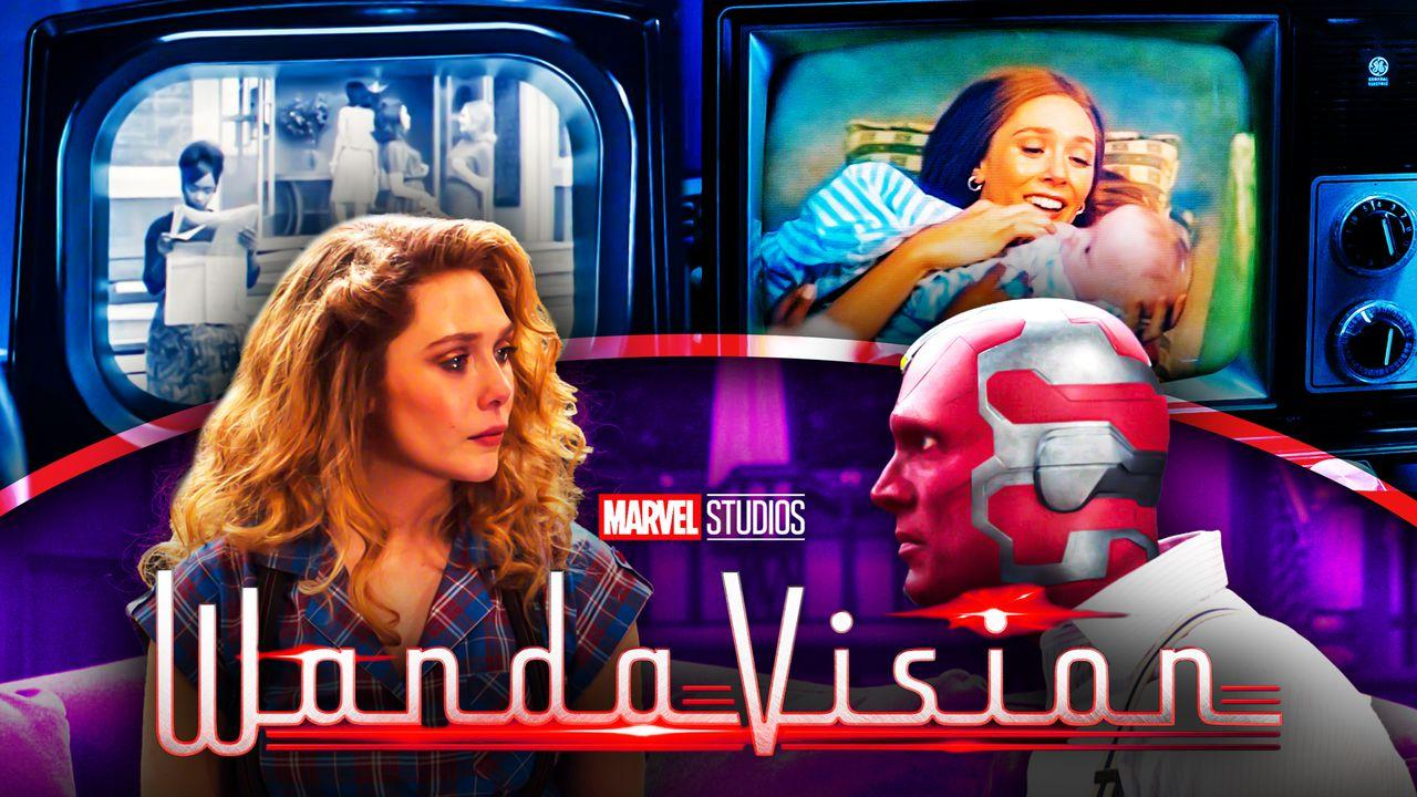 WandaVision TV Broadcast Scarlet Witch Vision
