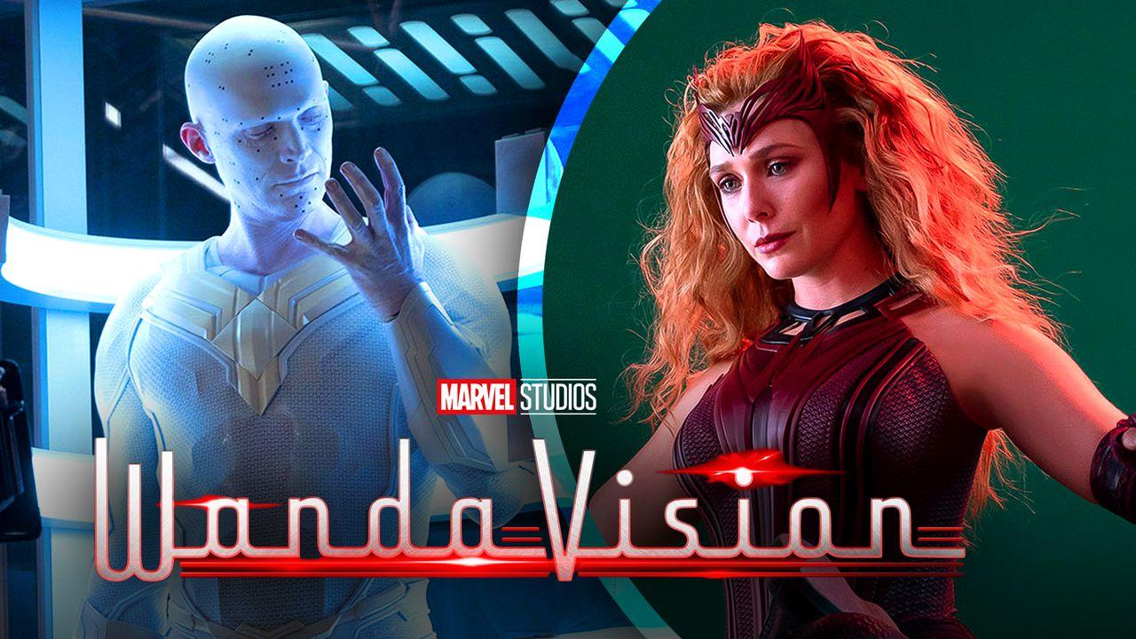 WandaVision Scarlet Witch White Vision