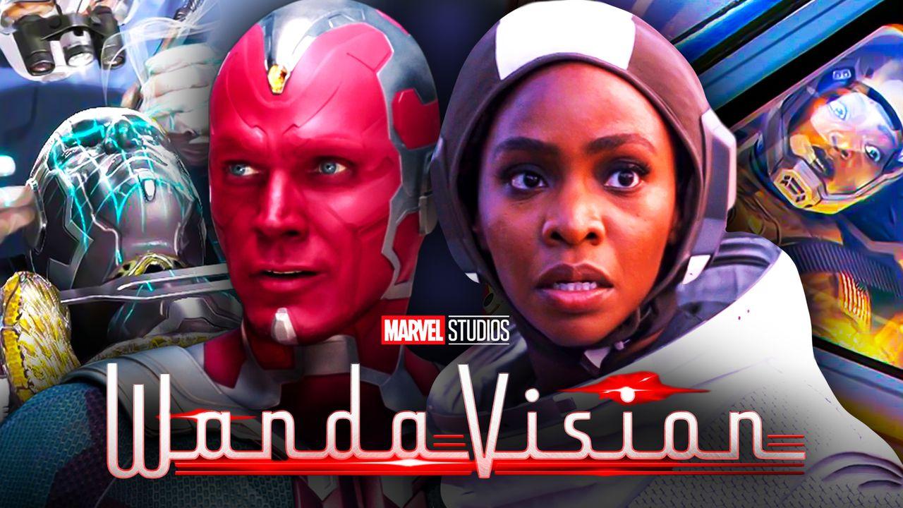 WandaVision Vision Monica Rambeau Concept art