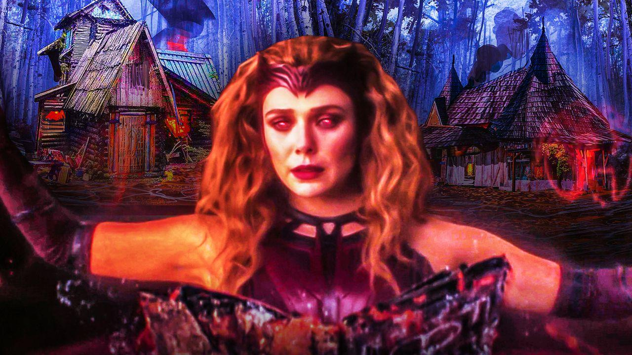 Scarlet Witch Post Credits Scene Cabin