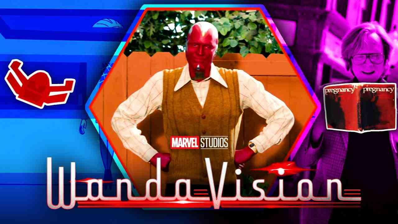 WandaVision Easter Eggs Vision Episodes