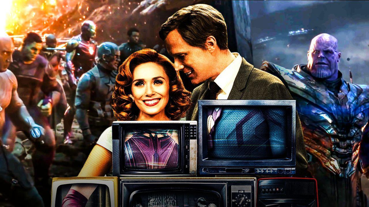 WandaVision and Avengers: Endgame SFX