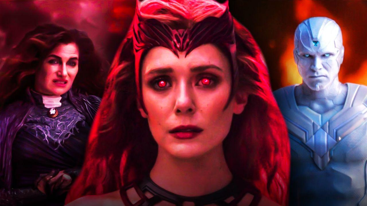 Agatha Scarlet Witch White Vision