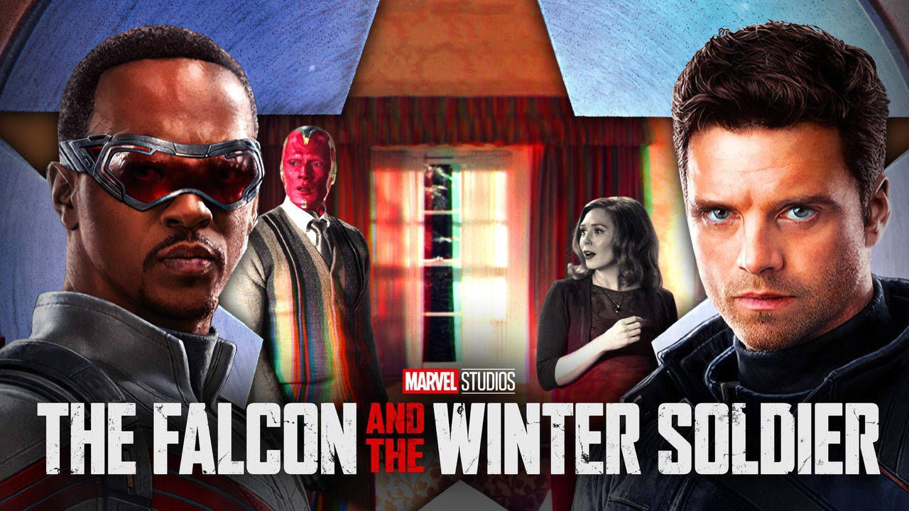 Falcon and Winter Soldier, Vision and Wanda in WandaVision