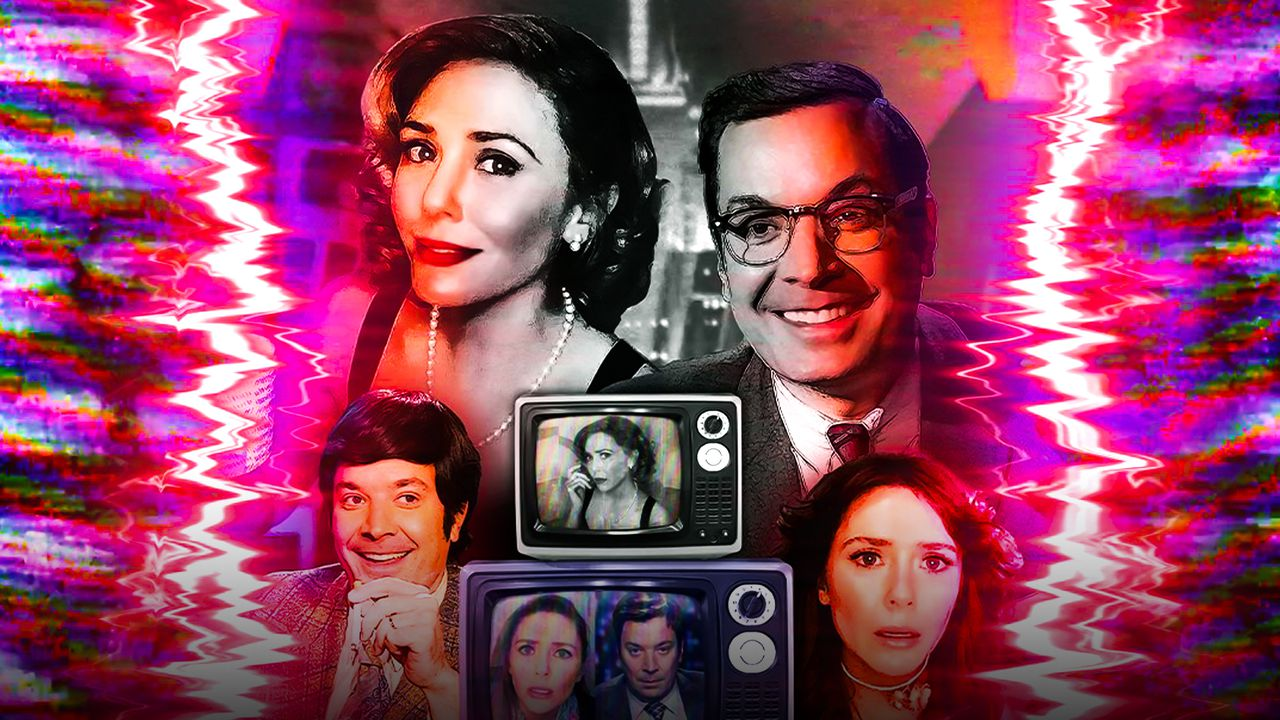 WandaVision, Jimmy Fallon, Elizabeth Olsen Poster