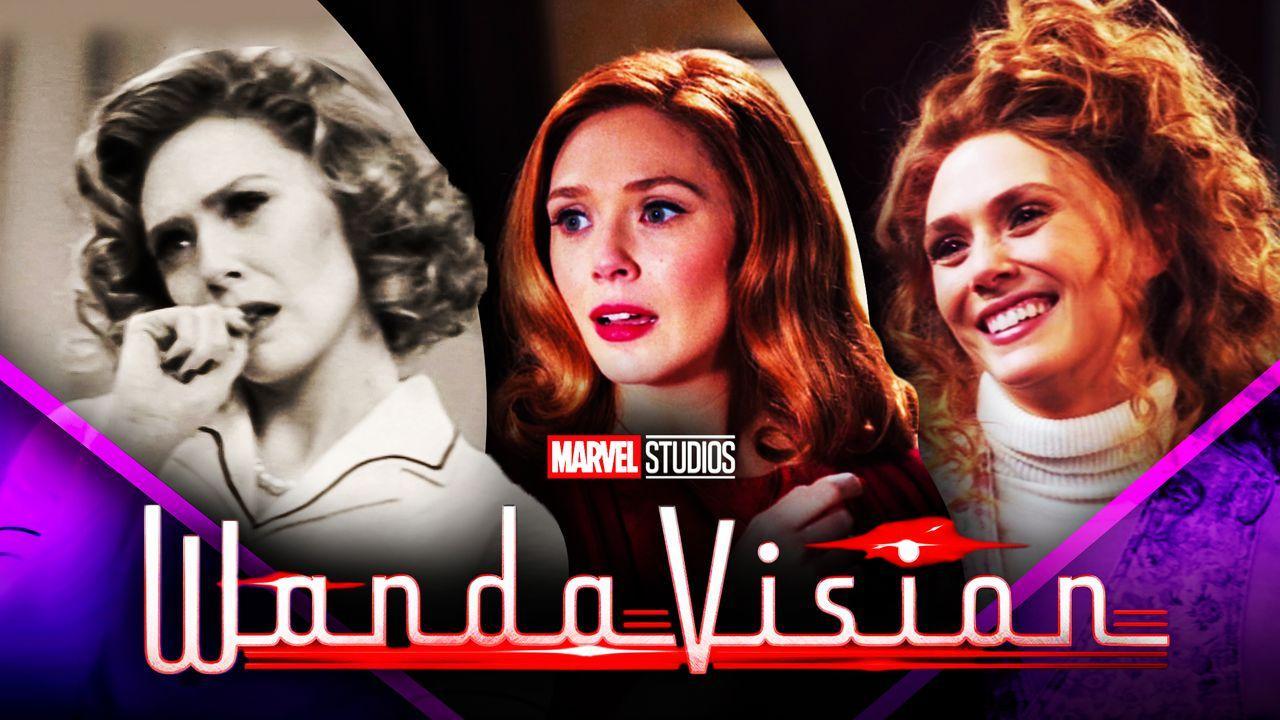 WandaVision Elizabeth Olsen Eras Looks