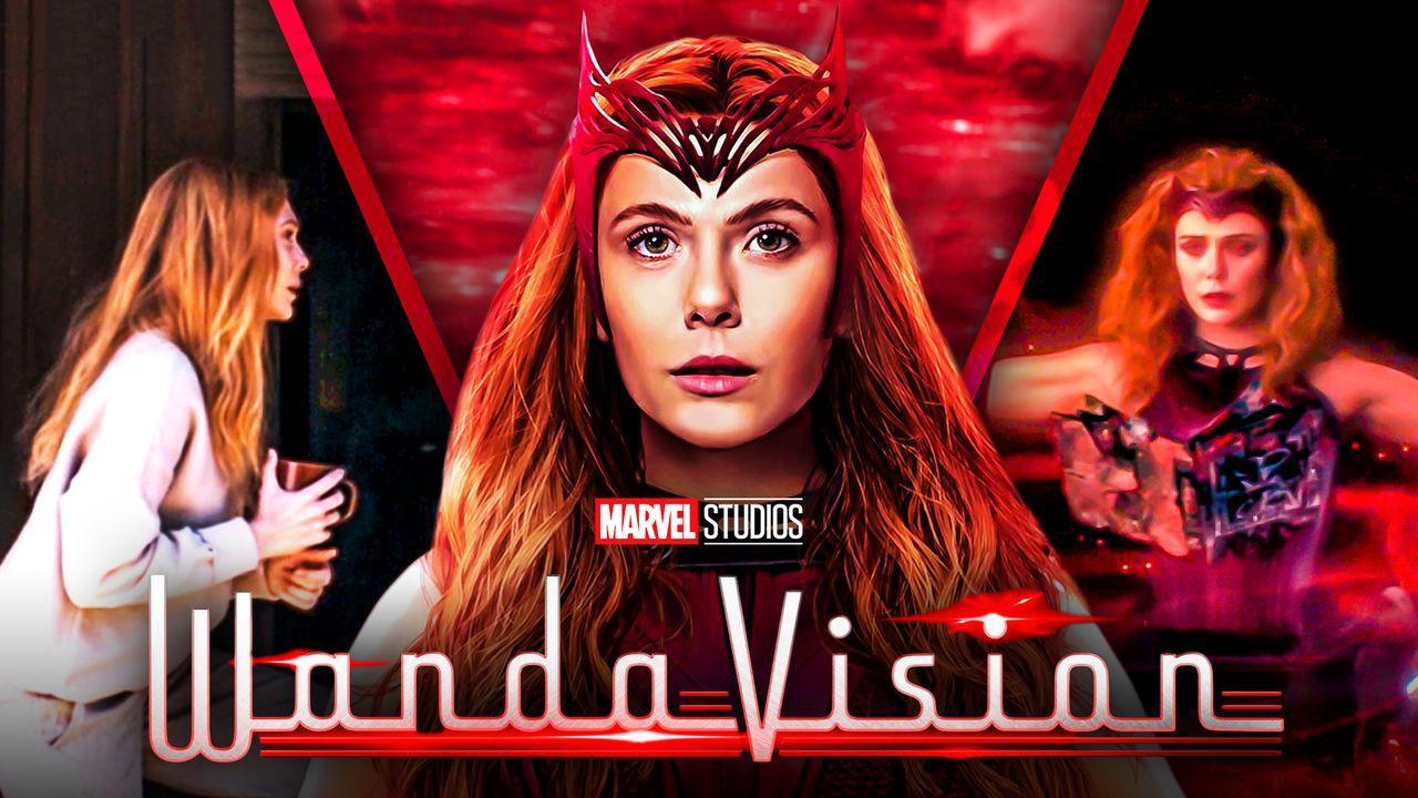 WandaVision Scarlet Witch Costume WandaVision Post Credits Scene