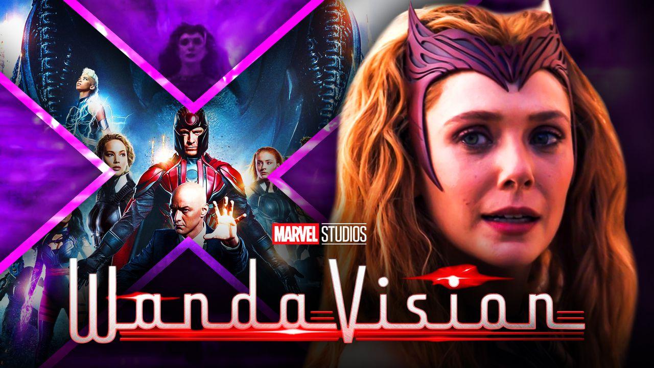 Elizabeth Olsen as Wanda Maximoff, X-Men desktop